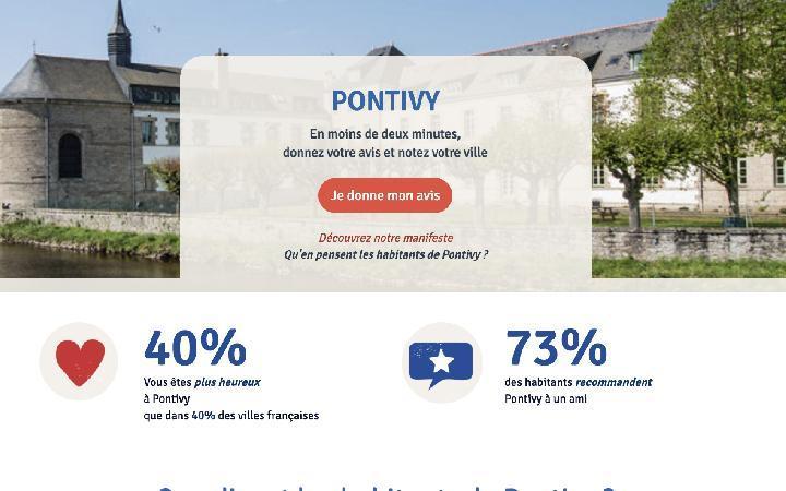 Image pour l'article A Pontivy vous pouvez donner votre avis sur votre ville !