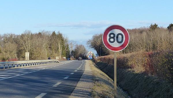Image pour l'enquête 80km/h sur les routes départementales